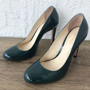 Anthropologie Shoes - Anthro Guilhermina round toe patent leather heels
